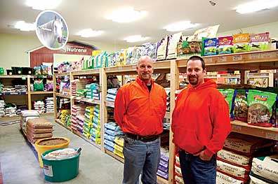 louiso s feed and seed carries everything the home gardener needs