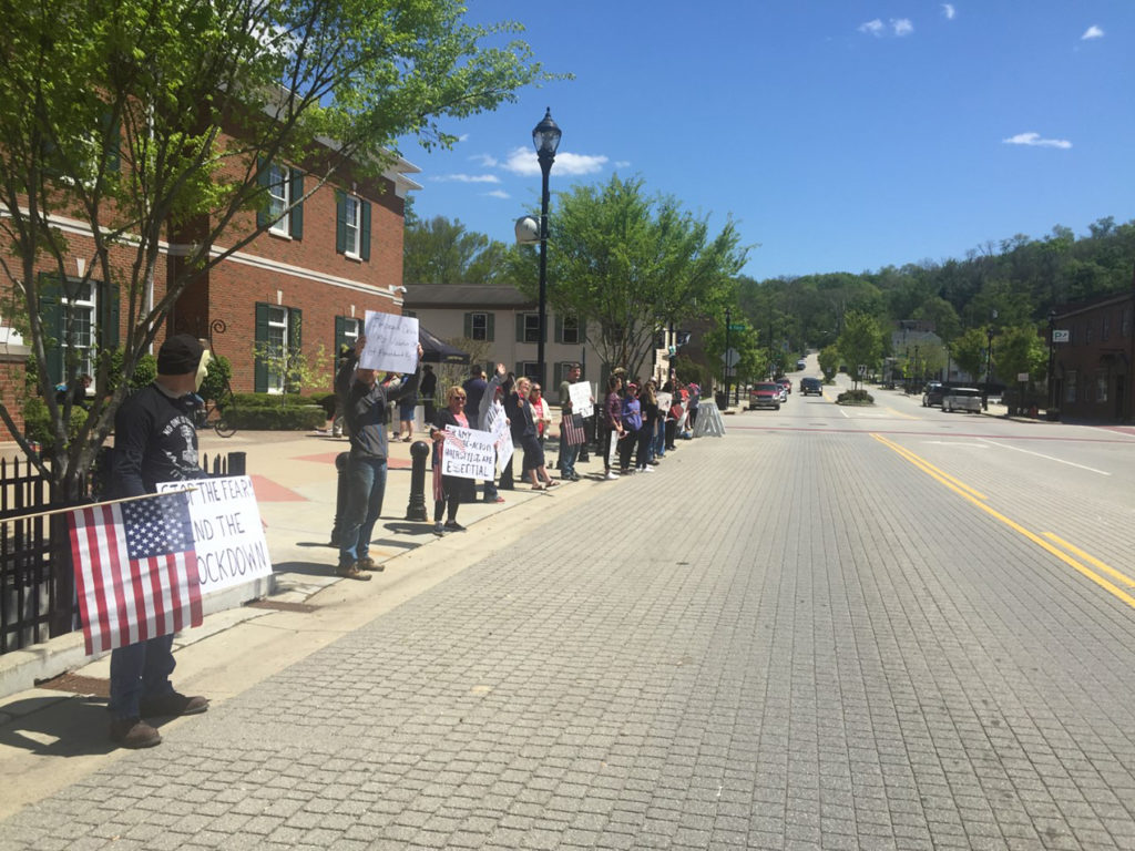 Rally In Batavia As Part Of Free Ohio Now Protests The